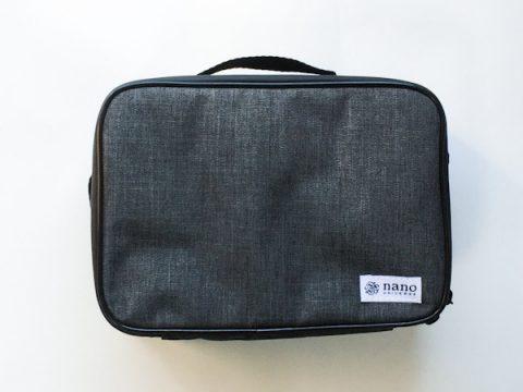 【発売前レビュー】MonoMax(モノマックス)2019年5月号《特別付録》ナノ・ユニバース 水にも強い!動く仕切りの整理バッグ