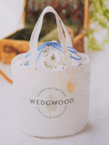 【次号予告】GLOW(グロー)2019年7月号《特別付録》WEDGWOOD(ウェッジウッド)260周年記念ロゴバッグ