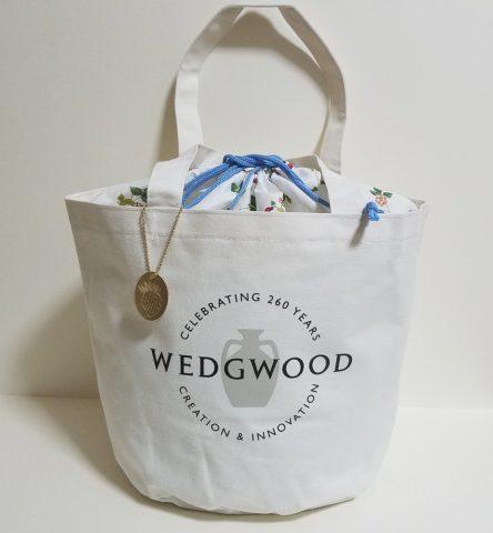【発売前レビュー】GLOW(グロー)2019年7月号《特別付録》WEDGWOOD(ウェッジウッド)260周年記念ロゴバッグ
