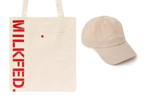【新刊情報】mini(ミニ)特別編集 MILKFED.(ミルクフェド) SPECIAL BOOK Cap & Tote Bag発売