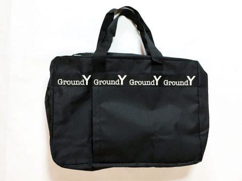 【発売前レビュー】smart(スマート)2019年9月号《特別付録》Ground Y(グランドワイ)BIGサイズボストンバッグ