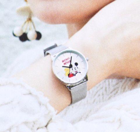 【次号予告】SPRiNG(スプリング)2019年11月号《特別付録》ミッキーマウス腕時計