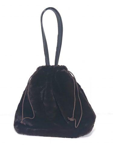【発売前レビュー】GLOW(グロー)2020年1月号《特別付録》エレンディーク エコファー巾着バッグ
