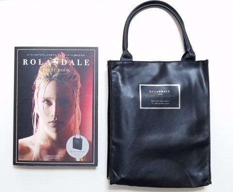 ROLANDALE FIRST BOOK(ローランデール ファーストブック)SQUARE TOTE BAG【購入開封レビュー】